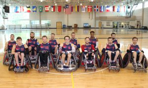 2016 US Paralympic Wheelchair Rugby Team