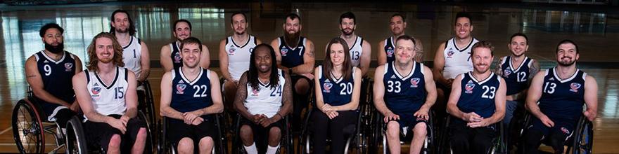 USA Wheelchair Rugby Team